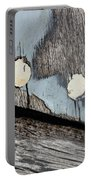 Abstract With Blue Portable Battery Charger