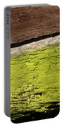 Abstract With Green Portable Battery Charger