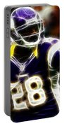 Adrian Peterson 02 - Football - Fantasy Portable Battery Charger