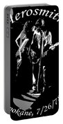 Aerosmith In Spokane 1b Portable Battery Charger