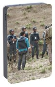 Afghan Police Students Listen To U.s Portable Battery Charger