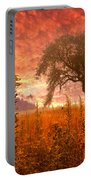 Aflame Portable Battery Charger by Debra and Dave Vanderlaan