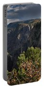 Afternoon Clouds Over Black Canyon Of The Gunnison Portable Battery Charger
