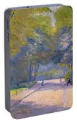 Afternoon In The Park Portable Battery Charger