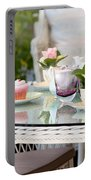 Afternoon Tea And Cakes Portable Battery Charger