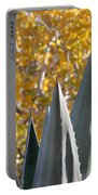 Agave Spikes In Autumn Portable Battery Charger