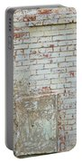 Aged Brick Wall With Character Portable Battery Charger