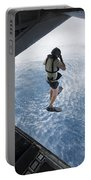 Air Force Pararescueman Jumps Portable Battery Charger
