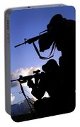 Air Force Security Forces Personnel Portable Battery Charger