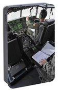 Aircrew Perform Preflight Checklists Portable Battery Charger
