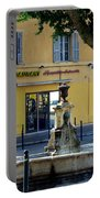 Aix En Provence Fountain Portable Battery Charger