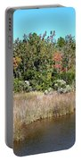 Alabama Bayou In Autumn Portable Battery Charger