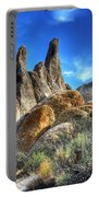 Alabama Hills Granite Fingers Portable Battery Charger by Bob Christopher