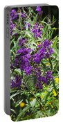 Alabama Purple Ironweed Wildflowers - Vernonia Gigantea Portable Battery Charger