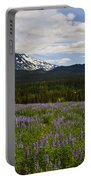 Alaska Lupine Portable Battery Charger