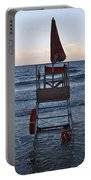 Alassio Sunset Facing East Portable Battery Charger