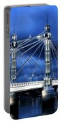 Albert Bridge London Portable Battery Charger by Jasna Buncic