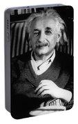 Albert Einstein, German-american Portable Battery Charger