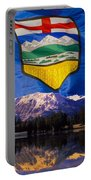 Albertas Rocky Mountains Portable Battery Charger