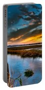 Albufera's Channel. Valencia. Spain Portable Battery Charger