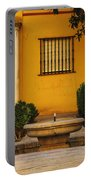 Alcazar Fountain In Spain Portable Battery Charger