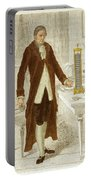 Alessandro Volta, Italian Physicist Portable Battery Charger by Science Source