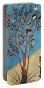 Alexander The Great At The Oracular Tree Portable Battery Charger by Photo Researchers