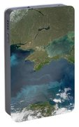 Algal Blooms In The Black Sea Portable Battery Charger