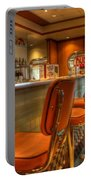 All American Diner 3 Portable Battery Charger by Bob Christopher