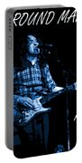 All Around Man Blues Square Portable Battery Charger
