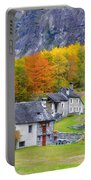 Alpine Village In Autumn Portable Battery Charger