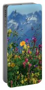 Alpine Wildflowers Portable Battery Charger