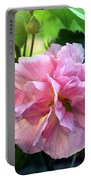 Althea Rose Of Sharon Portable Battery Charger