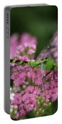 Always Stop To Smell The Flowers Portable Battery Charger