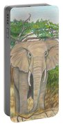 Amboseli Elephant Portable Battery Charger