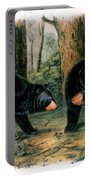 American Black Bear, 1844 Portable Battery Charger