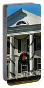 American Colonial Architecture Christmas  Portable Battery Charger