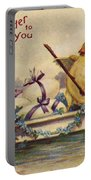 American Easter Card Portable Battery Charger