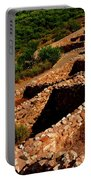 American Indian Patterns Of Living - Greeting Card Portable Battery Charger