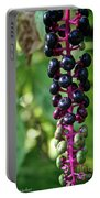 American Pokeweed Berries Portable Battery Charger