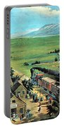 American Transcontinental Railroad Portable Battery Charger