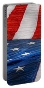 Americana - Flag - Stars And Stripes  Portable Battery Charger