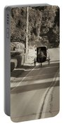 Amish Buggy - Lancaster County Pa Portable Battery Charger