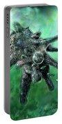 Amoeba Green Portable Battery Charger