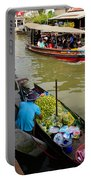 Ampawa Floating Market Portable Battery Charger by Adrian Evans