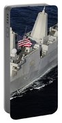 Amphibious Transport Dock Ship Uss San Portable Battery Charger