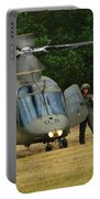 An Agusta A109 Helicopter Portable Battery Charger by Luc De Jaeger