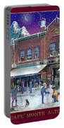 An Early Snow For Cafe Monte Alto Portable Battery Charger