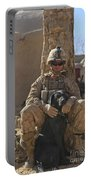 An Ied Detection Dog Keeps His Dog Portable Battery Charger