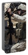An Infantryman Talks To His Marines Portable Battery Charger